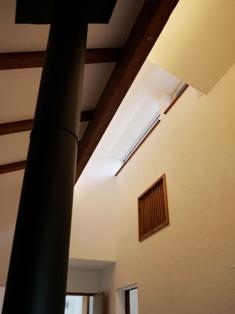 明かり窓と通風窓