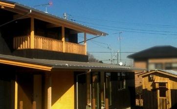 弁柄杉板貼りの家 外観