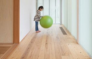 自然素材 床材